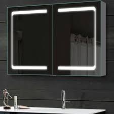 led bathroom mirrored medicine cabinet norhs com