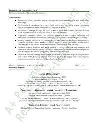 elementary resume template elementary resume exles best of sle tutor resume