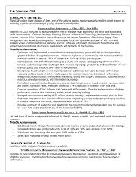 Sample Senior Management Resume Finance Student Resume Example Sample Http Www Jobresume