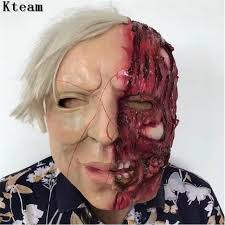 2017 new super scary devil zombie mask halloween cosplay party