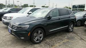 dark green volkswagen vwvortex com picked up a dark moss 2018 sel premium 4motion