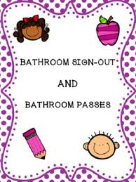 bathroom pass ideas sle equipment sign out sheet web form templates customize