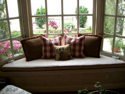 leather bay window cushions beautiful bay window cushions