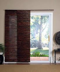 Glass Blinds Curtains For Sliding Glass Doors Bamboo Curtains For Sliding Glass