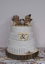 chair cake topper wedding cake topper adirondack cake topper theme