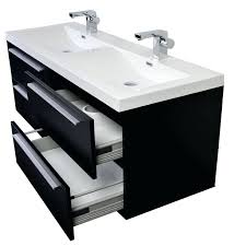 Double Sink Vanity 48 Inches Sinks Black Double Sink Vanity Top Black Basin Vanity Black