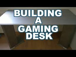 how to build a gaming desk how to build a gaming desk for under 50 dollars modern looking