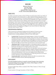 Sample Resume For Police Officer With No Experience by Exclusive Inspiration Model Resume Template 11 Sample Modeling