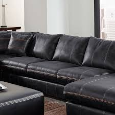 tucker modular sectional w chaise black sectionals living