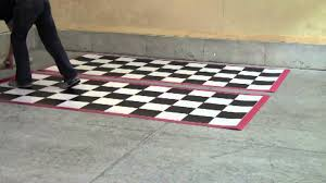 G Floor Roll Out Garage Flooring by G Floor Imaged Parking Pads For Motorcycles U0026 Atvs Youtube