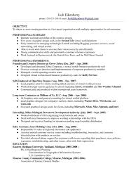 Sample Resume Objectives For Graphic Design by Sample Resume For Career Change Free Resume Example And Writing