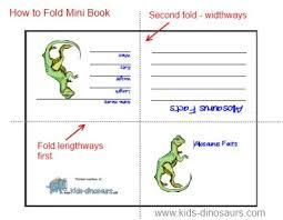 printable blank mini book template printables for kids