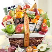 fruit basket gifts happy birthday abundance classic fruit basket gift baskets