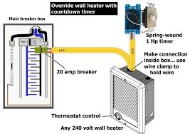 override bathroom heater with timer throughout cadet heater wiring
