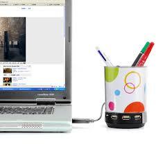 Desk Buddy Buddy Usb Hub Speaker Pen Holder Light U0026 Photo Frame In One