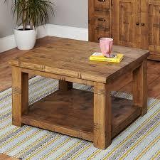 rustic oak coffee table oak coffee table heyford rough sawn from big blu
