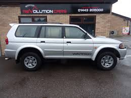 used 2002 mitsubishi shogun sport 2 5 equippe td for sale in mid