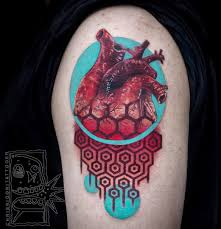 tattoo pictures color vibrant tattoos that mix unusual color and realistic details