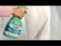 How To Wash Plastic Shower Curtain How To Clean A Shower Curtain Scrubbing Bubbles Youtube