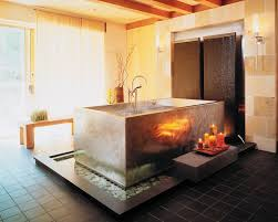 Japanese Style Bathroom by Japanese Soaking Tubs Japanese Baths Outdoor Soaking Tub