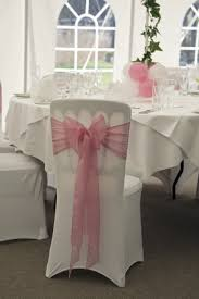 Chair Cover Sashes Decorate My Day Chair Cover Pink Sash