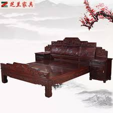 chinese rosewood side table chinese style solid rosewood bedroom furniture bed set side table