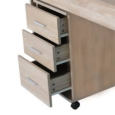 3 Drawer Desk Organizer by Foxhunter Computer Desk Pc Table With 3 Drawers Home Office