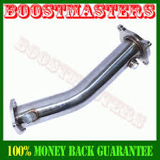 audi a4 downpipe 06 08 audi a4 b7 stainless steel turbo downpipe 1 8t ebay