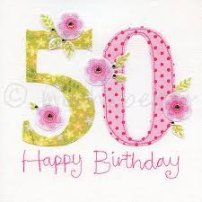 50th birthday cards 50th greeting cards fiftieth birthday card