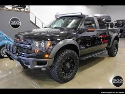 truck ford f150 2012 ford f 150 svt raptor black black w extended warranty