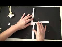 tutorial how to make a swedish paper star christmas tag and