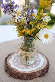 Vases For Flowers Wedding Centerpieces 50 Wildflowers Wedding Ideas For Rustic Boho Weddings Deer