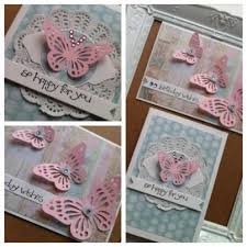 delicate butterflies doileys handmade cards by osonia designs
