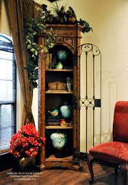 Cabinet Accents Southwest Red And Turquoise Showcased By Our Narrow Iron Door