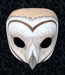 owl mask barn owl mask 2010 by merimask on deviantart