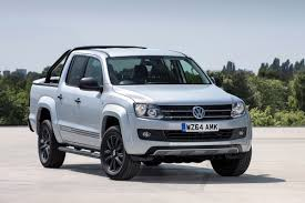 volkswagen truck diesel volkswagen amarok dark label set for uk auto express