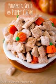pumpkin spice puppy chow sallys baking addiction