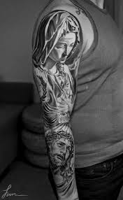 más de 25 ideas increíbles sobre tatuajes virgen maría en