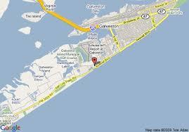map of galveston map of comfort suites galveston galveston