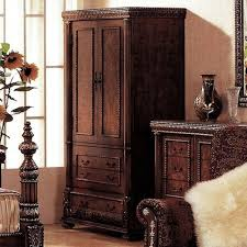Tv Armoire With Doors And Drawers Bella Tv Wardrobe Armoire In Cherry Ash Burl Dcg Stores