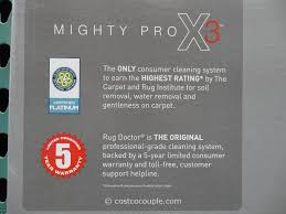 Rug Doctor Mighty Pro X3 Pet Pack Rug Doctor Mighty Pro X3 Carpet Cleaner