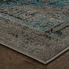 Teal And Gray Area Rug by Teal Grey Rug Roselawnlutheran