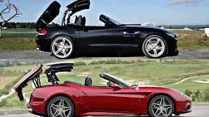 Ferrari California Green - my bmw z4 has the same roof as a ferrari youtube