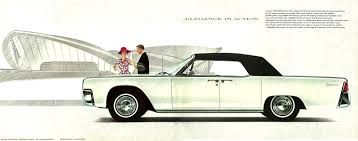 1963 lincoln continental convertible техника pinterest