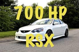 Finetuned 700 Hp Acura Rsx Turbo Youtube