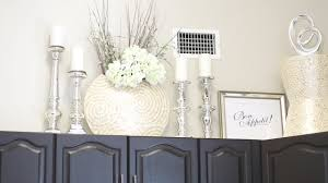 kitchen top of cabinets decor decorate with me above my kitchen cabinets