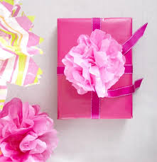 how to use tissue paper in a gift box how to make a beautiful floral tissue paper bow tissue paper