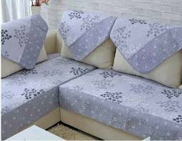 Sofa Protector Quilted Microfiber Custom Sectional Sofa Couch Slipcovers