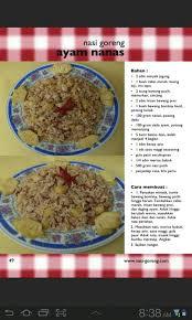 cara membuat nasi goreng ayam dalam bahasa inggris 50 resep nasi goreng untuk android download gratis di mobomarket