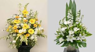 church flower arrangements flowers ian j arthur funeral directors